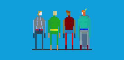 Pixel Hero Splash Screen